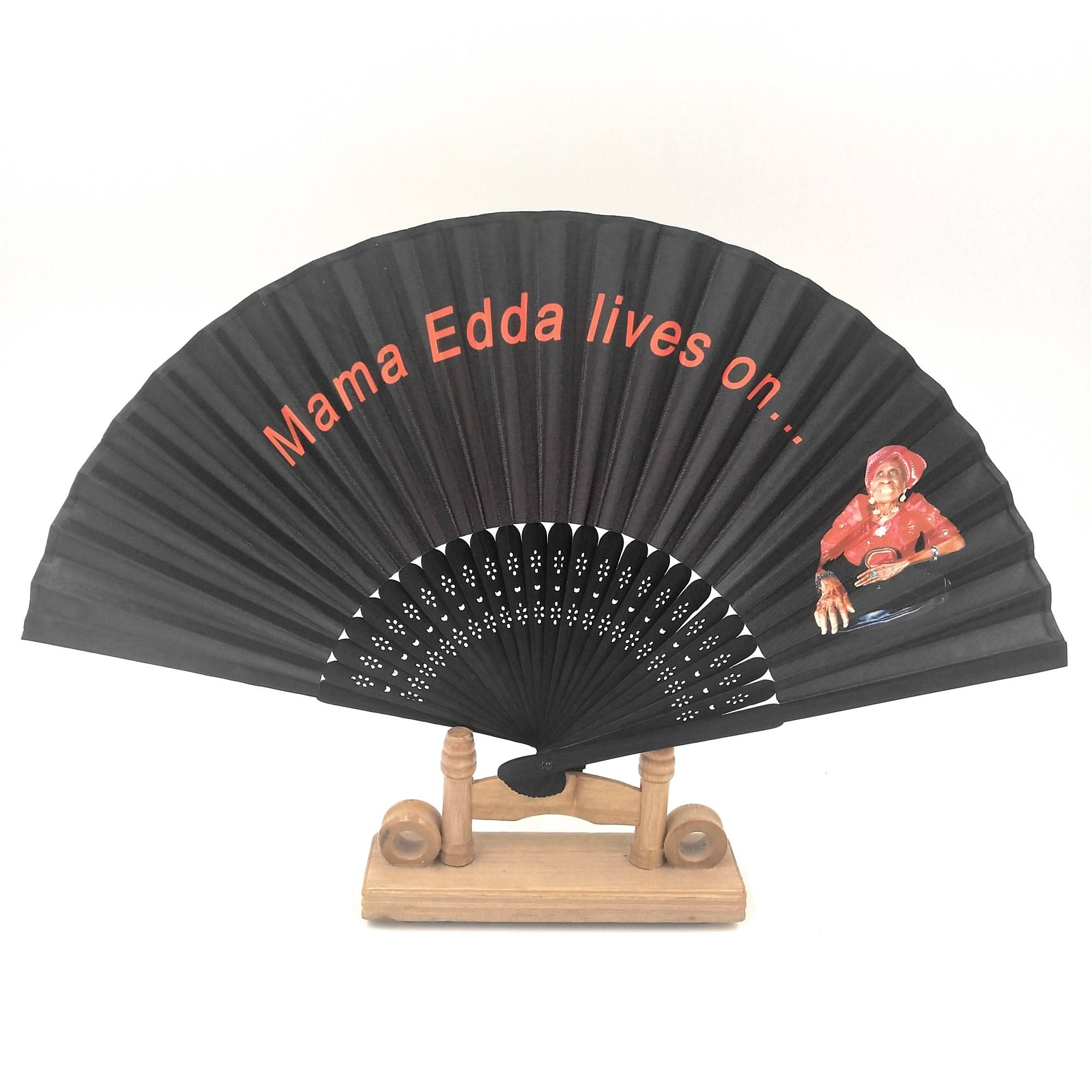 Best Quality Personalized Logo Hand Fan Custom Printed Folding Small Hand Held Fan Church Hand Fan