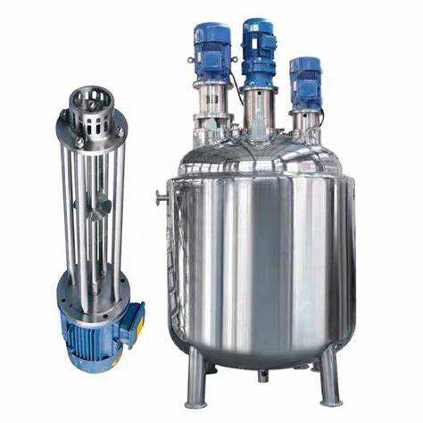 2020-Emulsifying Mixer Of Stainless Steel Electric Heating Stirring Homogeneous Emulsifier Mixing Tank