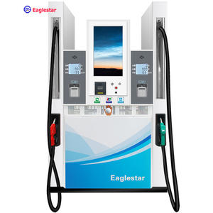 EG7 plus multi media self service petrol pump fuel dispenser with advertisement display in Philippines