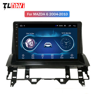 9 zoll full touch Android 10 auto gps navigation multimedia radio-player für Mazda 6 2002-2008
