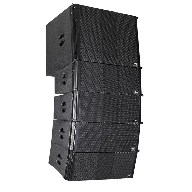 "TAC hot sale China factory dual 8"" pa 2 way professional line array speaker outdoor stage passive speaker for public address"