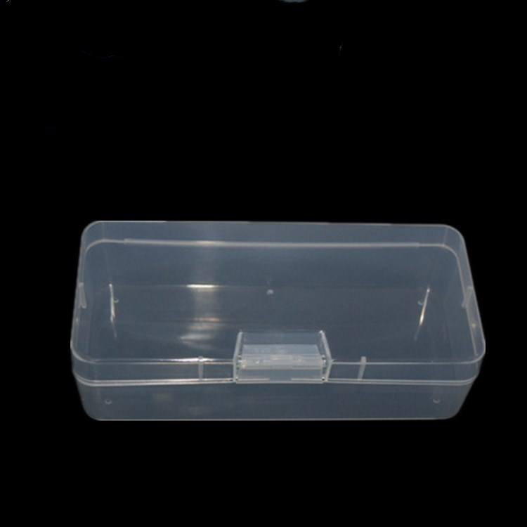 Factory Price High Quality Rectangle PP Hard Plastic Parts Strorge Box