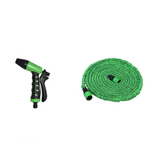 50ft flexible garden water pipe expanding hose with garden water gun