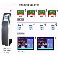 Bank/Hospital/Clinic/Pharmacy Service LCD Counter Arabic/French/English/Russia Multilingual QMS Queue Management System Solution