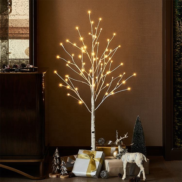 24 LED Blossom Tree Table Lamp Indoor //Outdoor Decor Light Bedroom//Party//Wedding