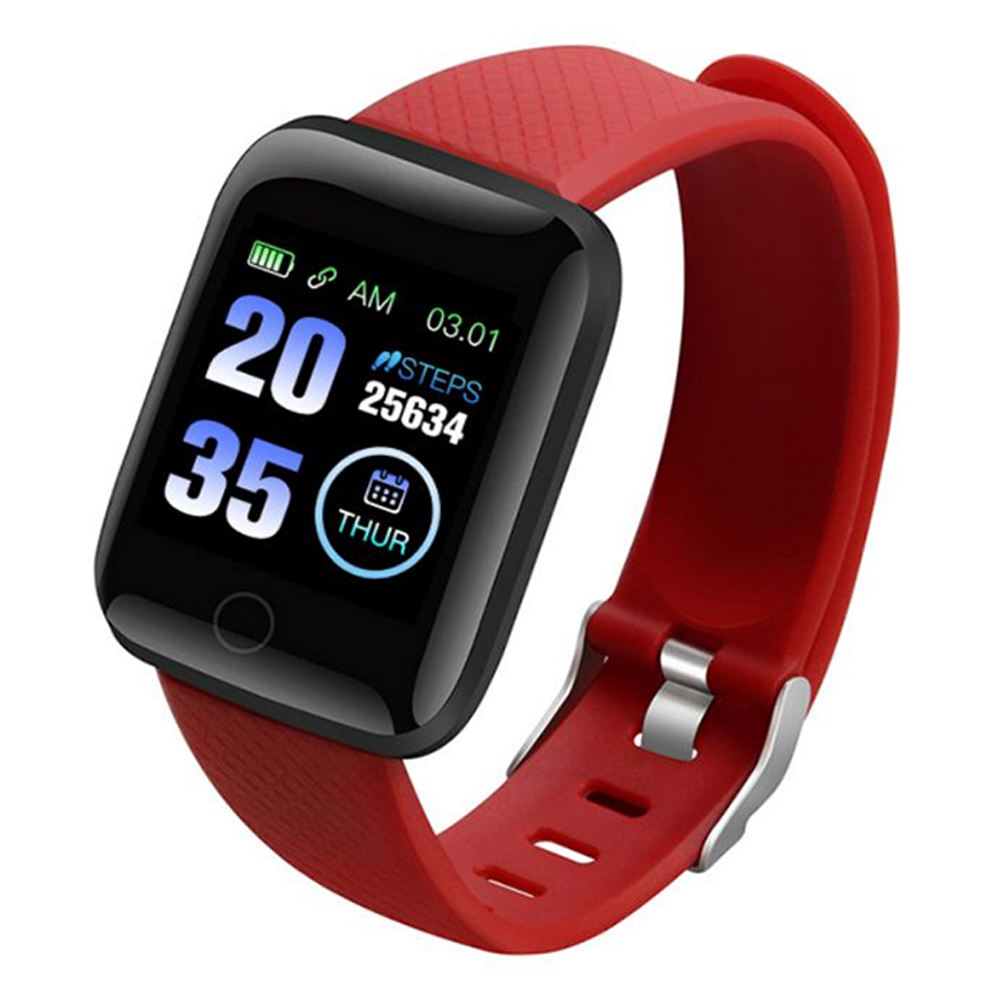 Waterproof smartwatch with Blood Pressure Heart Rate moritor Blood oxygen Pedometer calories Sleep Tracker Remote Control