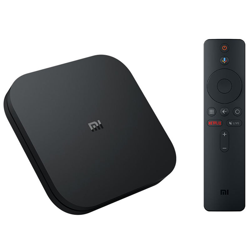 Globale Originale Xiaomi Mi Box S 4K HDR Android TV 8.1 Mi Boxs 2G 8G WIFI Google cast Netflix IPTV Set Top Mi Box 4 Lettore Multimediale