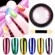 Holographic Laser Colorful Neon Pearl Pigment Manicuring Glitter Dust Acrylic Powder Neon Pink for Nail