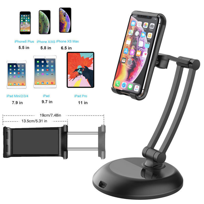 New released smart accessories desktop cell phone holder stand adjustable