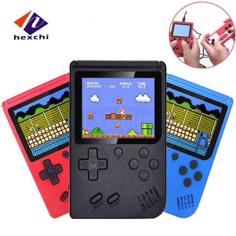 2020 Draagbare Retro Video Game Console 3.0 Inch Lcd Sreen Mini Handheld Enkele Game Player Ingebouwde 400 Games