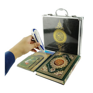 Smart Islamic Muslim Tajweed Big Al Quran Book Digital Read Reader Reading Learning Speaking Talking Pen With Bangla Urdu Somali
