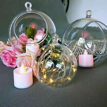Acrylic ball hollow ball wedding mall kindergarten ornaments Christmas window decoration transparent ball