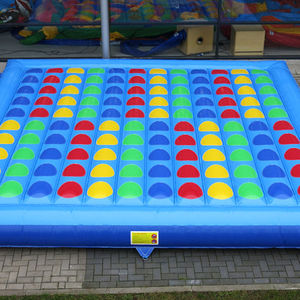 Yard Twister นอกเกม Giant Inflatable Twister เกม