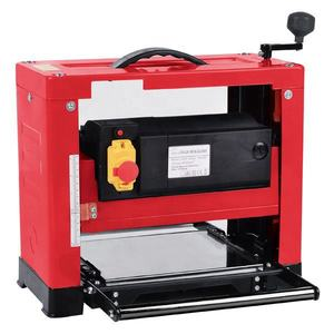 High efficient 1600W portable small wood thickness planer for woodworking