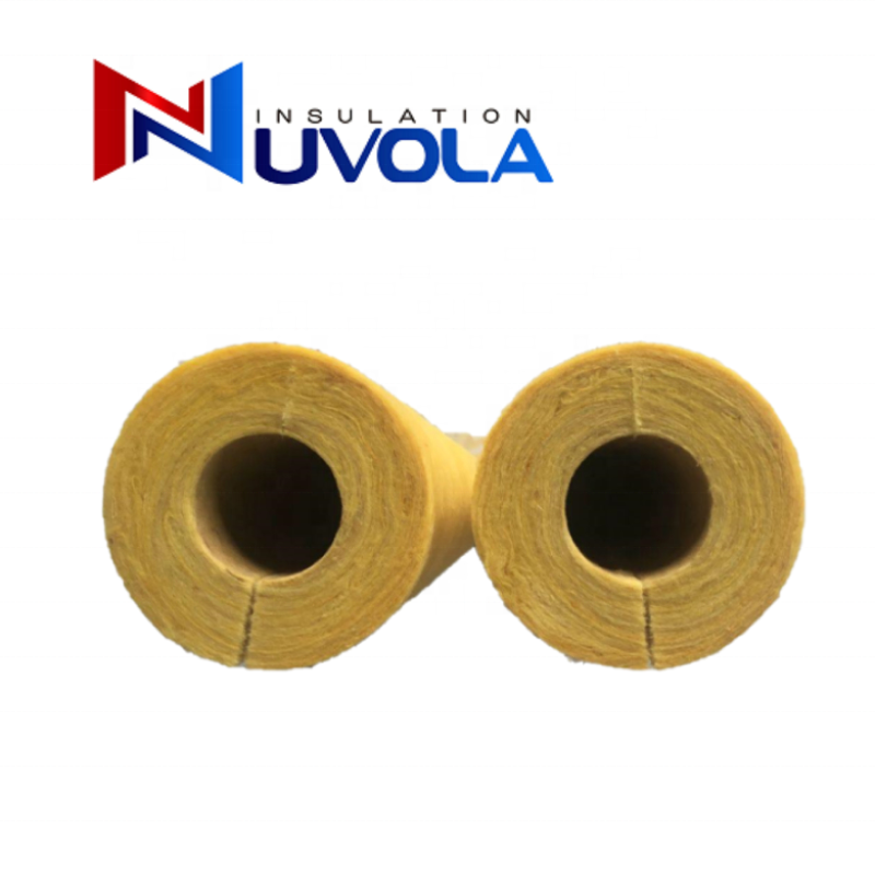 Heat Insulation High Quality Fiber Glass Wool pipe material