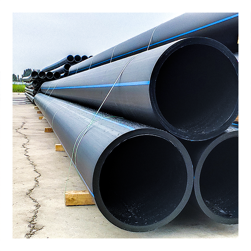 China Manufacture 280mm 560mm 110mm 225mm 25mm 90mm 75 Mm Sdr11 200mm Hdpe Pipes Pn10 Polyethylene Pipe