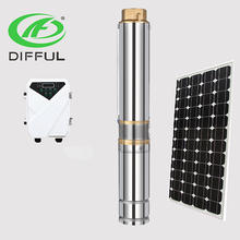 difful solar pump brushless dc submersible solar pumps