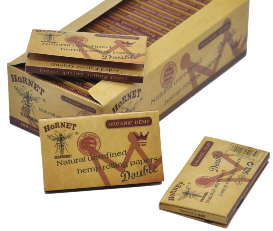 Personalized Natural Organic Gum Unbleached Hemp Slow Burning Custom Rolling Papers