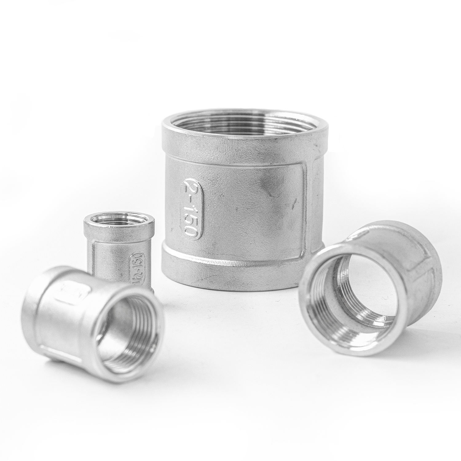 tube type fittings straight quick connect water union tubing stainless steel flexible pipe fitting hydraulic coupling