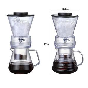2020 Hot sale portable glass cold drip brew iced coffee maker