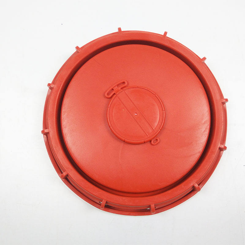 Red lids/caps 163mm 6 inch & 254mm 9 inch for 1000L IBC Tank Lids Cover
