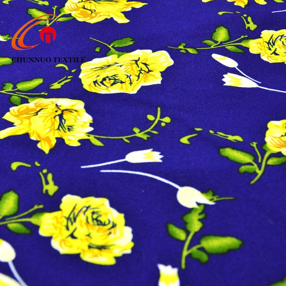 New Arrival Chunnuo Textile Garment require Dty brush Print fabric