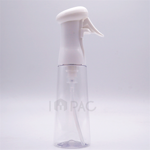 clear facial plastic high pressure continuous fine mist spray bottle 100ml