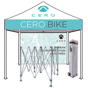 Outdoor even pop up trade show aluminium folding tent trade show tent