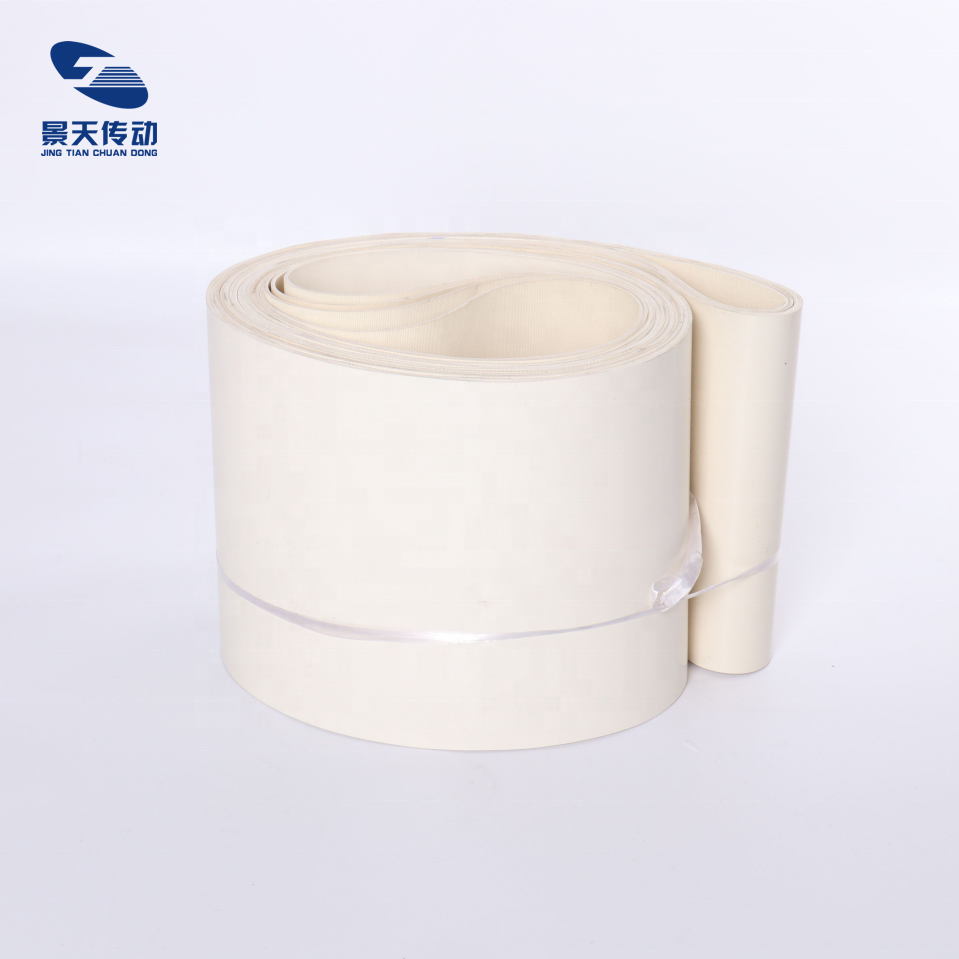 NBR conveyor belt white wear resistance and high temperature resistance