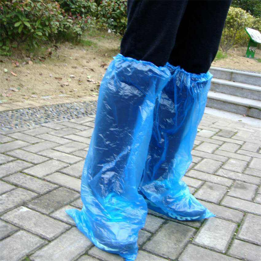 Disposable PE shoe-cover long barrel