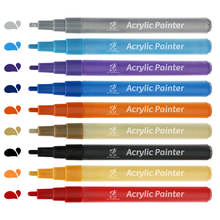 artist grade chalk Finecolour marker pen permanent paint fabric markers wholesale, sketch markers