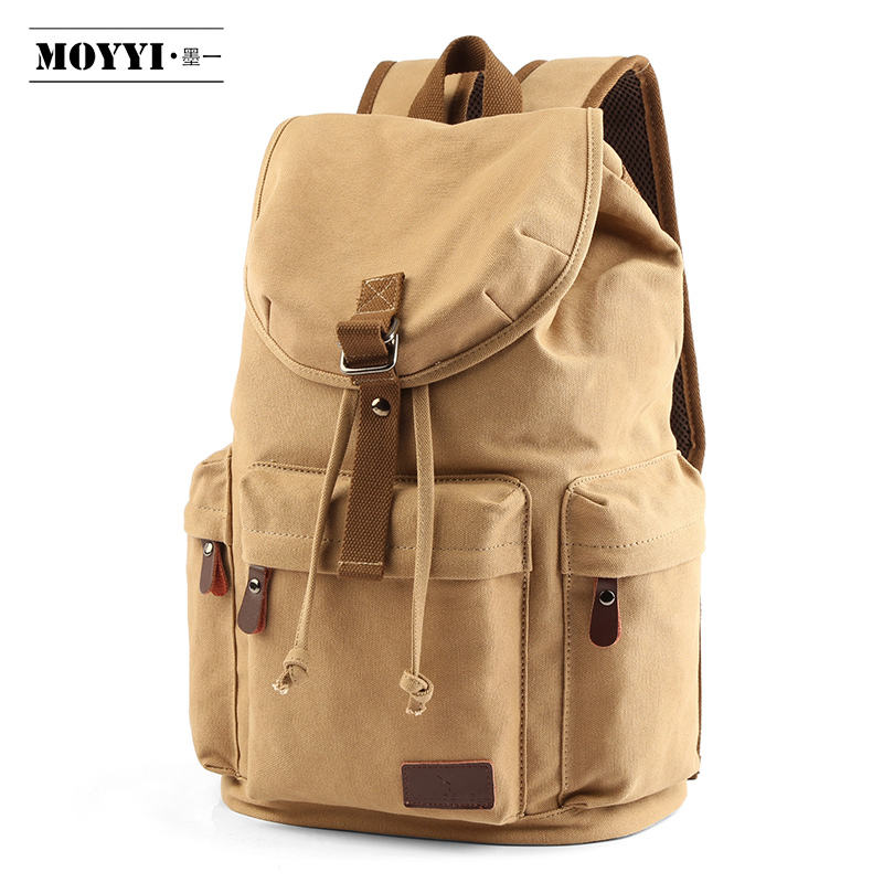 Custom Rucksack men's sports backpack Daypack Outdoor laptop backpacks travel gym bag canvas backpack