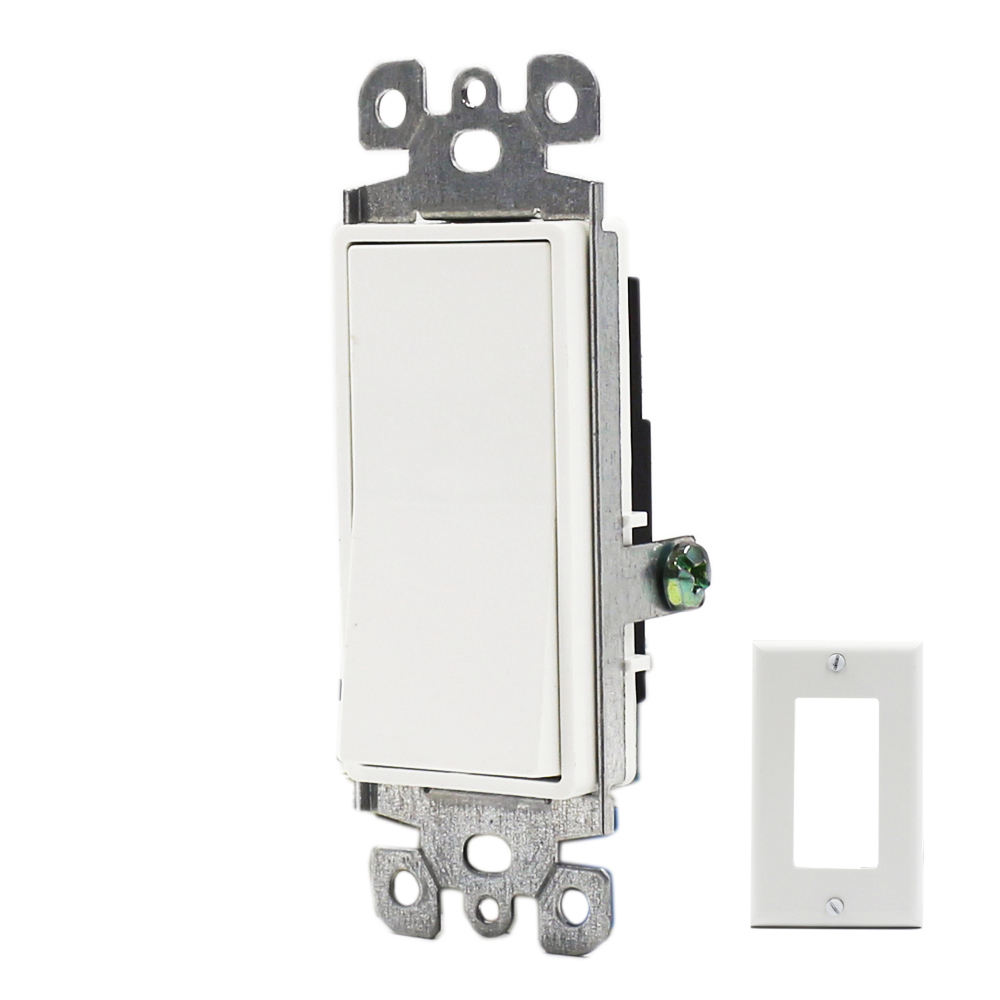 Hot Sale Push-In Type US Duplex Receptacle Wall Mount Switches 15A