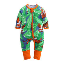 New Born Baby Jumpsuit Infant Toddler Cotton Rompers  baby sleepwear