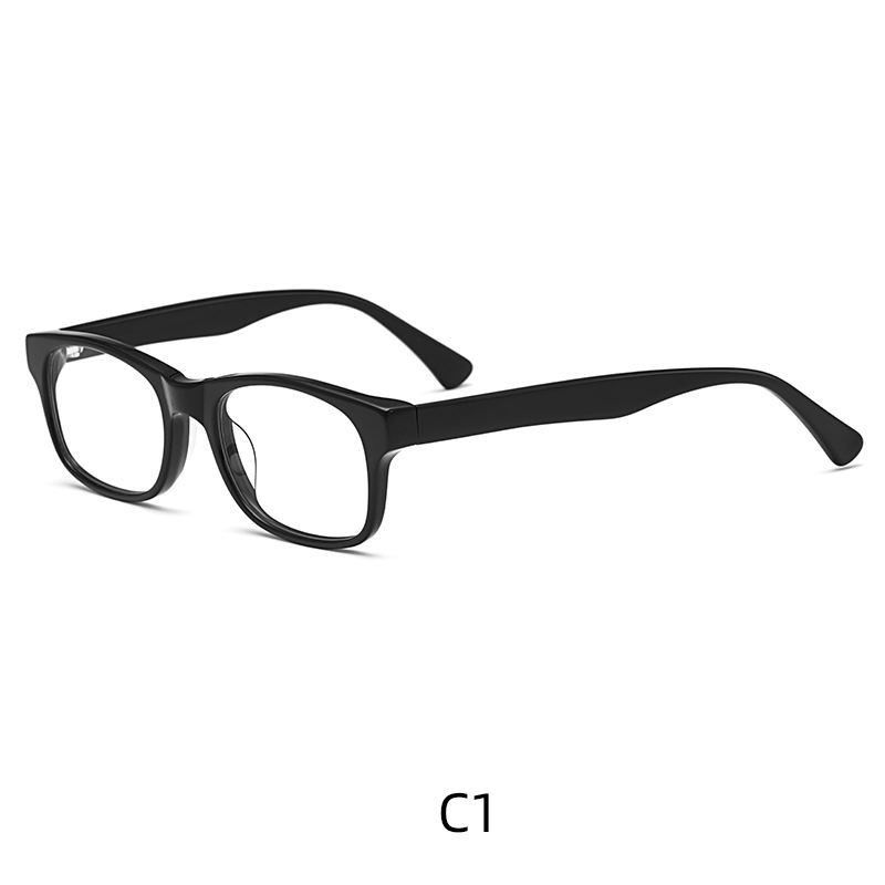 High Quality Traditionally Square Multiple Colour Acetate Eyeglasses Frames Supplier