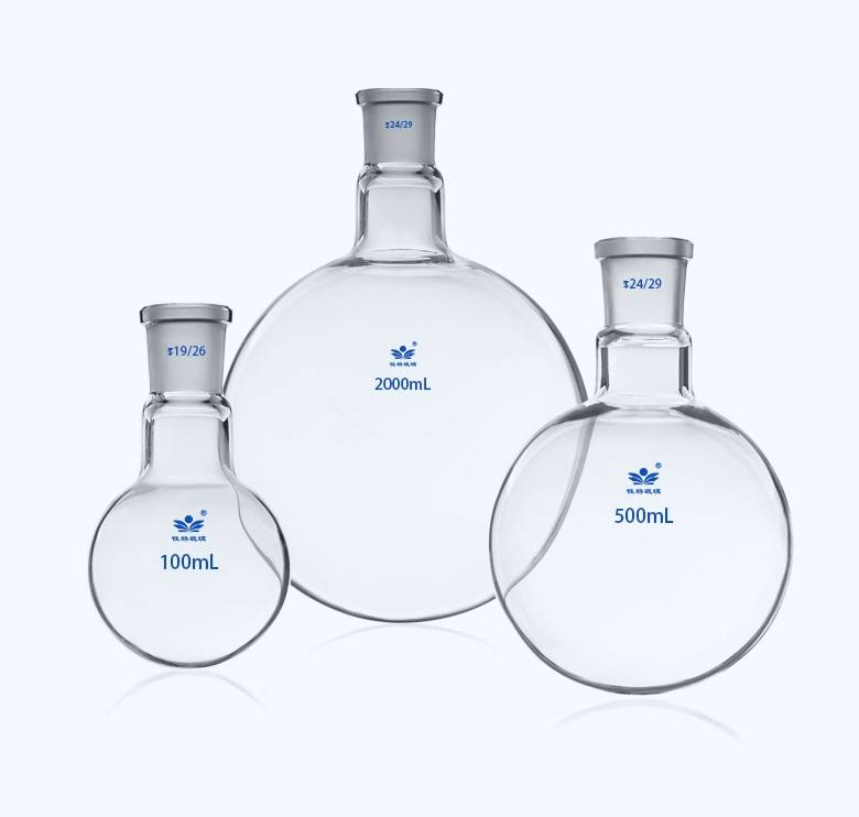 E-whales Laboratory Glassware 20000ml Glass Heavy Wall Single Neck Round Bottom Boiling Flask
