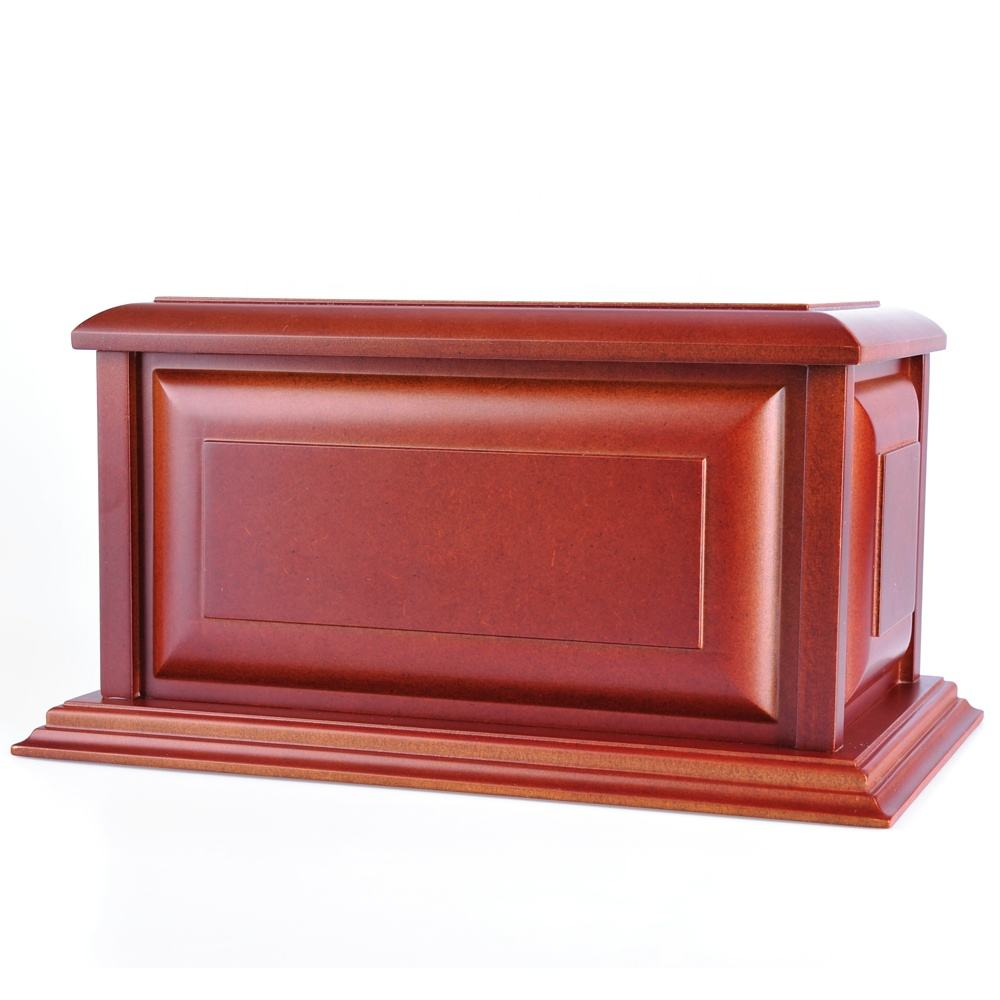 High quality handmade funeral casket and urn