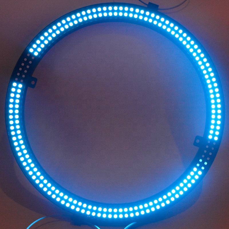 Projection Lights [ Led ] Led Addressable DJ Night Club/Party/Stage Rental Lighting DMX512 Led Pixel Ring Light