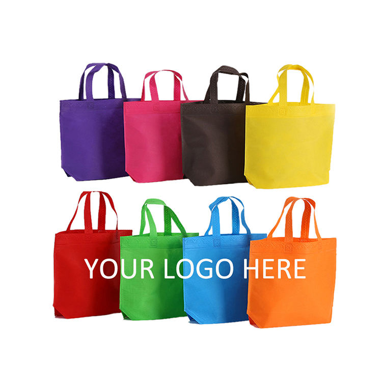 Laminated Shopping Bag China Supplier Portable Bolsas Ecologicas Tnt Laminated Non Woven Fabric Shopping Bag