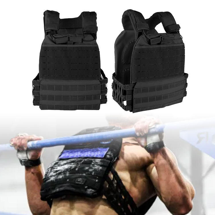 Best Weighted Vest For crossfitness and Running Gym equipment Crossfitness Weight Plate carrier Vest