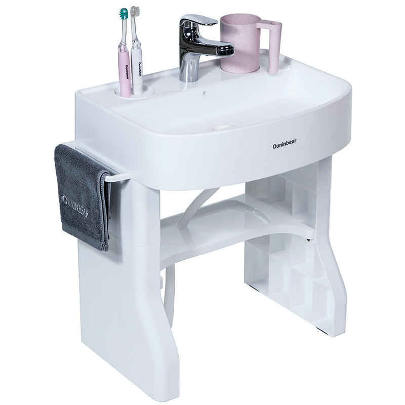 New arrival Plastic Children Hand Wash bath Basin Stand for Children at home