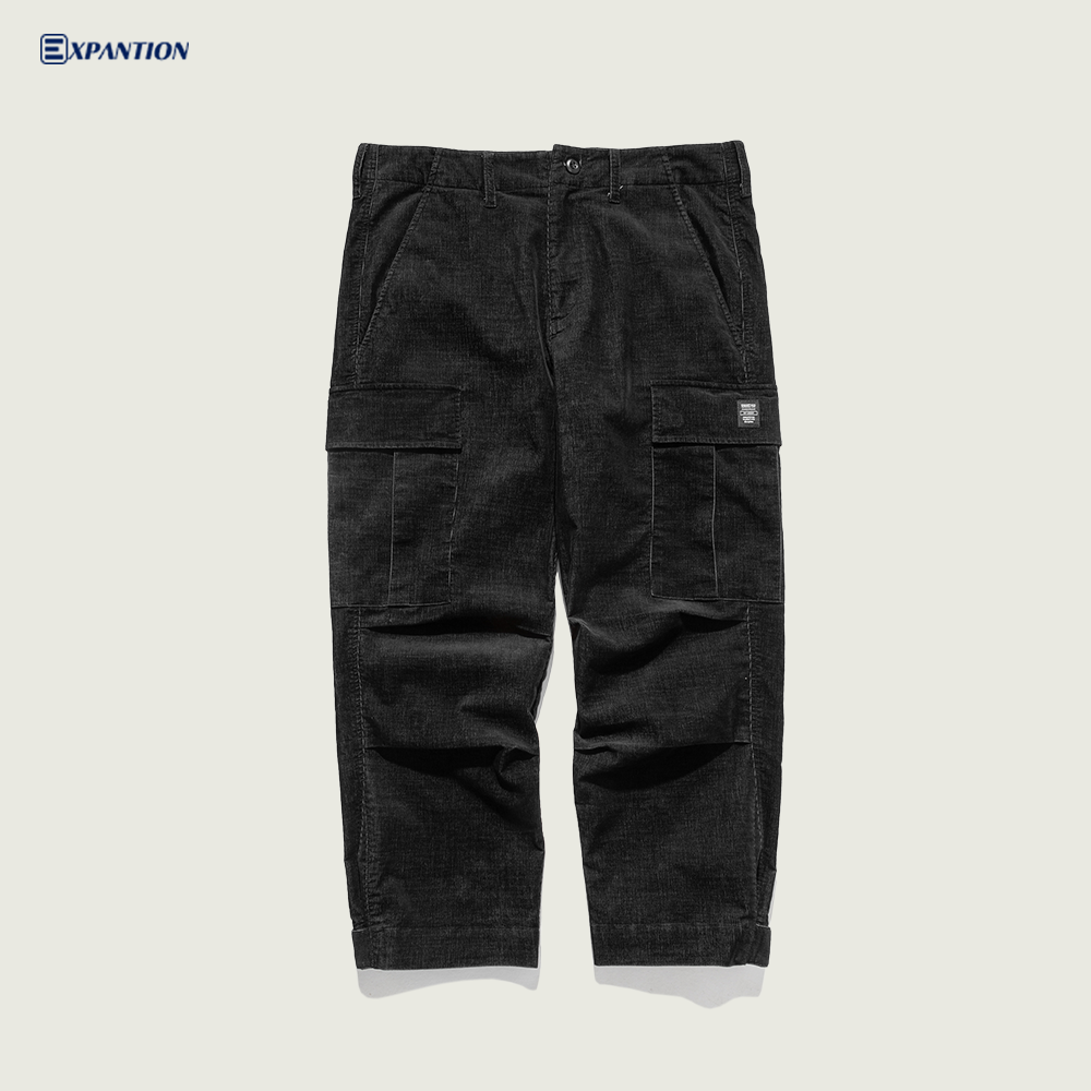 EXP Fashion Factory New Arrivals Warm Men Corduroy Pants Casual Winter Streetwear Pants