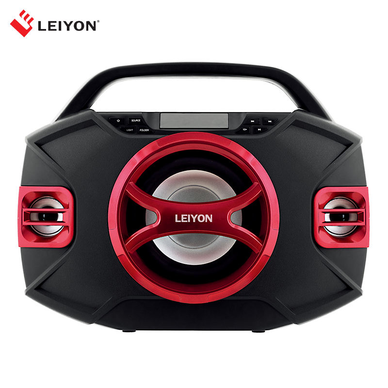BLUETOOTH Boombox Portable speaker with CD Player & USB/SD