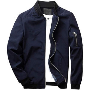 Dropshipping Groothandel Mode Heren Baseball Varsity Bomber Jacket Plus Size