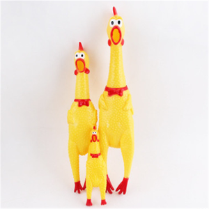 CHENG YI Cute pet toy screaming chicken screaming chicken small dog pet cockfighting toy