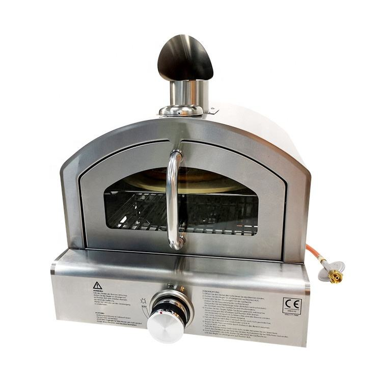 Table Top Gas Barbecue OVEN Multifunction Outdoor Portable Gas Bbq Pizza Oven Grill