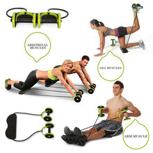 Wholesale Factory Price Revoflex And Xtreme AB Wheel Body Fitness Fit With Workout Equipment Like Resistance Band And Yoga Mat
