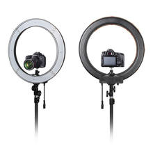 RKSE photographic lighting 18 inch ring light beauty lamp 96w battery operated led ring light