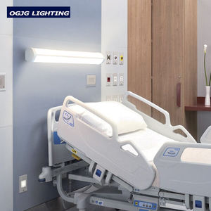 OGJG 100-277v 347v trilaterally emitting wall mount clinic over bed head led linear lighting fixture