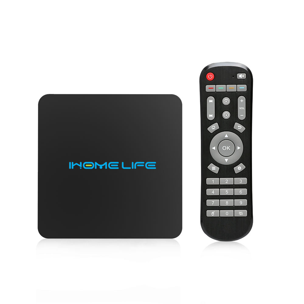 Ihomelife 8 Core TV box Amlogic S912 HLQ Max 2GB 16GB download del software Android Smart box tv con A distanza di controllo Settopbox